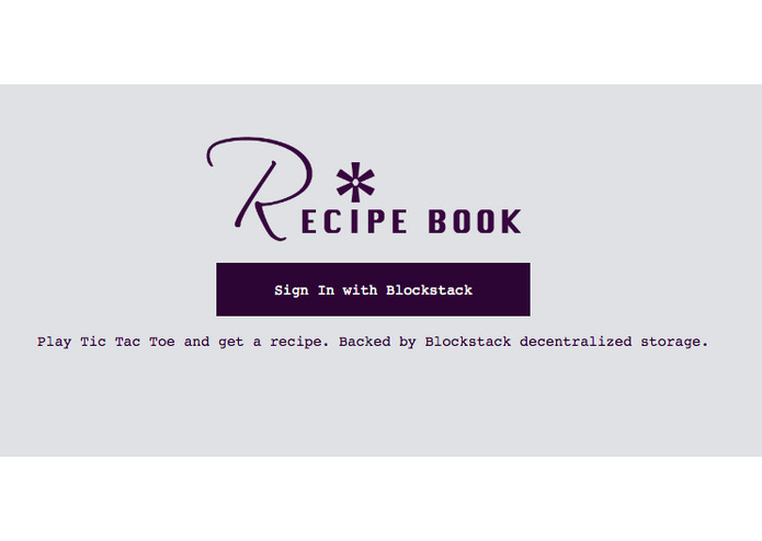 Recipe Book – screenshot 1