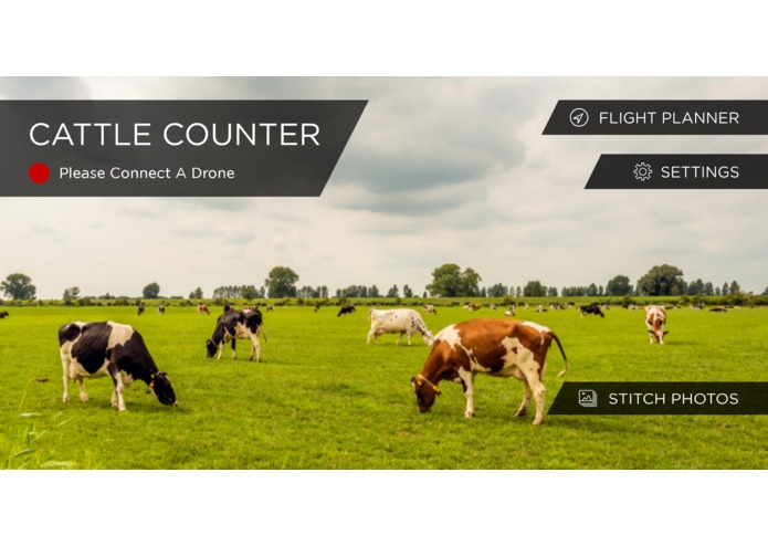 Cattle Counter Android app – screenshot 1