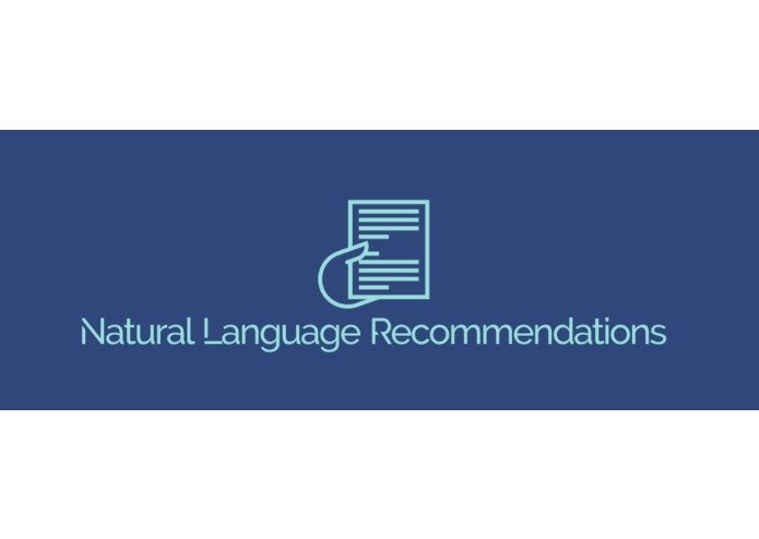 NaturalLanguageRecommendations – screenshot 1