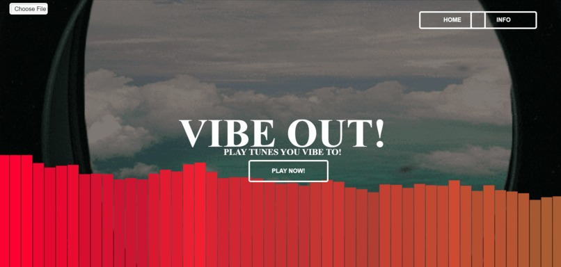 VIBEZ Web App – screenshot 1