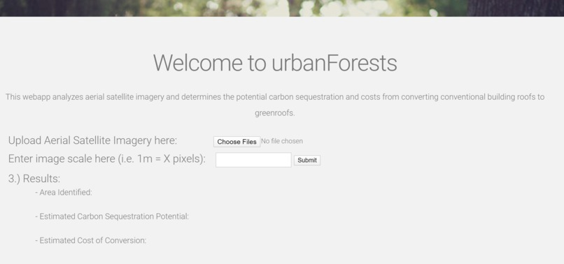 urbanForests – screenshot 2