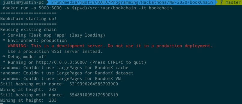 Bookchain – screenshot 3