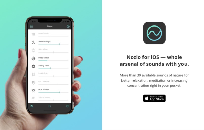 Noizio — focus, relax, sleep – screenshot 2