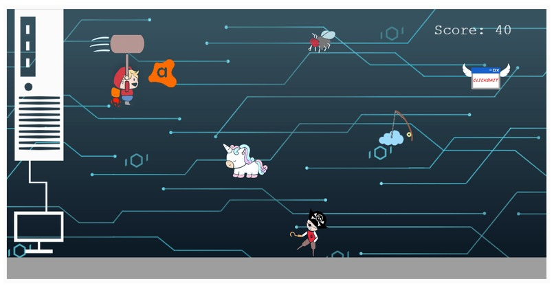 Avast! Browser Game  – screenshot 1