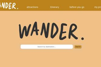 Wander - The Travel Plan Site