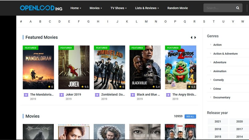 How to watch free movies and TV series online – screenshot 1