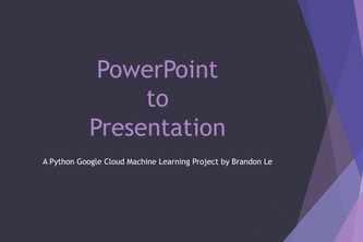 PowerPoint to Presentation