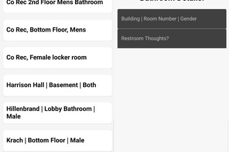 LooCation: Review Fourm for Local Restrooms