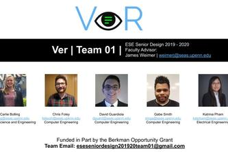 FALL SEMESTER: Team 01: VeR