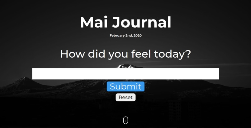 Mai Journal – screenshot 1