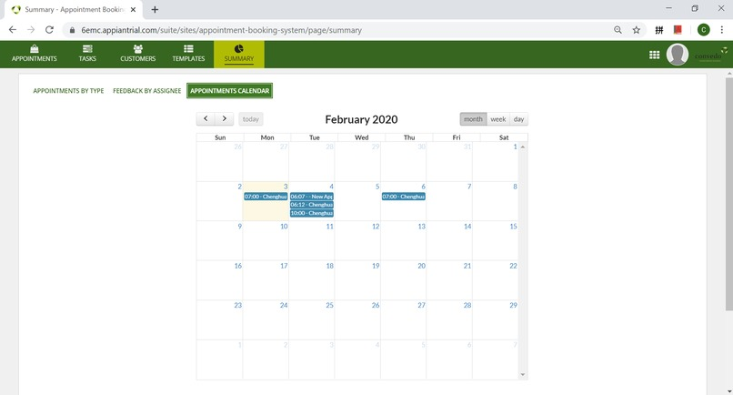 Appointment Booking System – screenshot 6