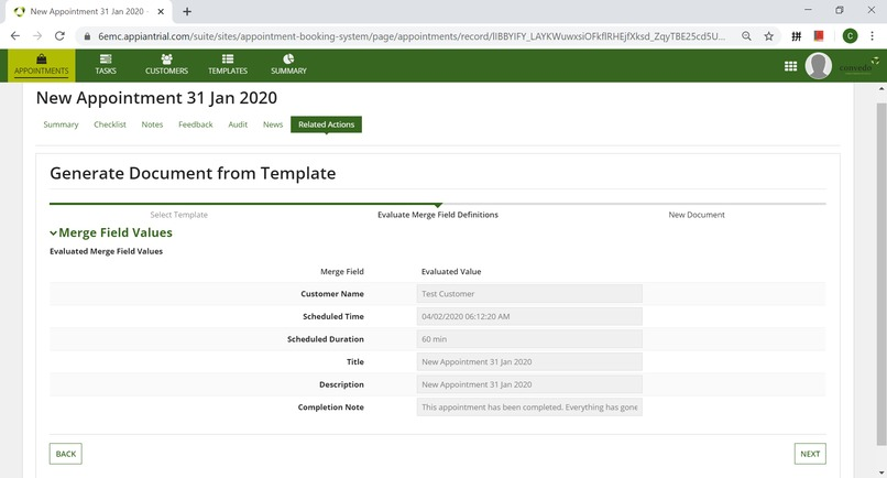 Appointment Booking System – screenshot 5
