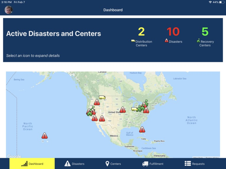Data Driven Decisions using Appian (Disaster Management) – screenshot 1