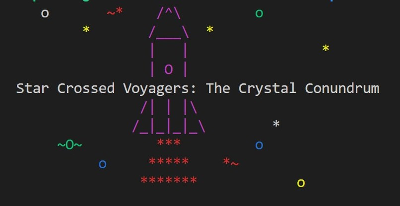 Star Crossed Voyagers: The Crystal Conundrum – screenshot 1