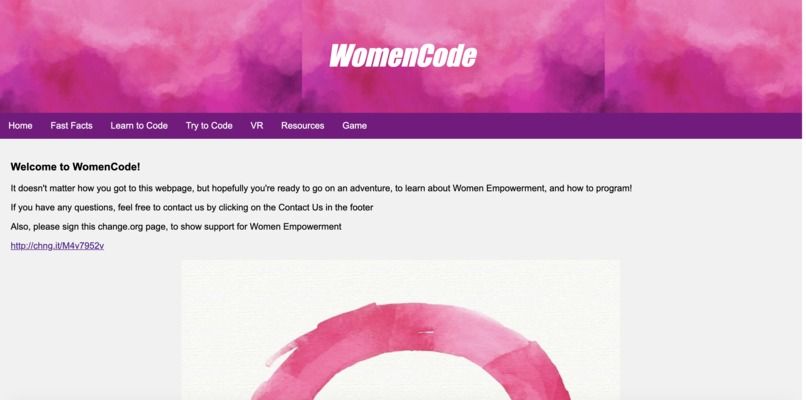 WomenCode – screenshot 6