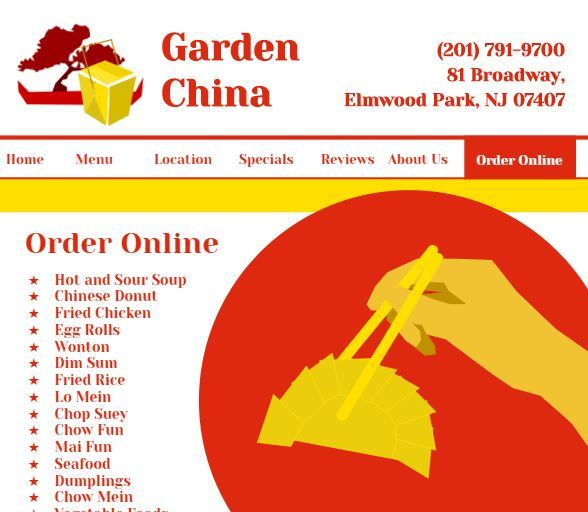 Garden China Website Concept – screenshot 1