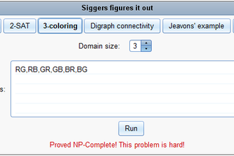Sigfigs: Automatically Solving P vs NP for CSPs