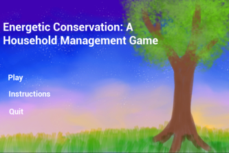 Energetic Conservation: A Household Management Game