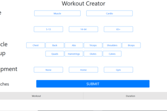 Workout Creator