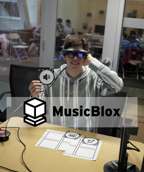 MusicBlox: Tangible Programming Education in Mixed Reality – screenshot 2