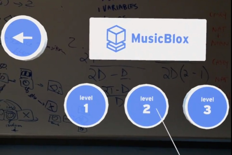 MusicBlox: Tangible Programming Education in Mixed Reality – screenshot 4