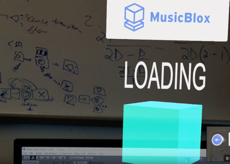 MusicBlox: Tangible Programming Education in Mixed Reality – screenshot 6