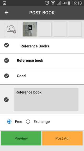 Book The BOOK - Books Swapping App – screenshot 2