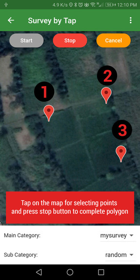 Geo Survey – screenshot 1
