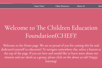 Children Education Foundation (CHEF)