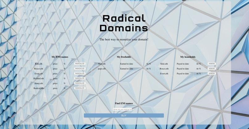 Radical Domains – screenshot 2