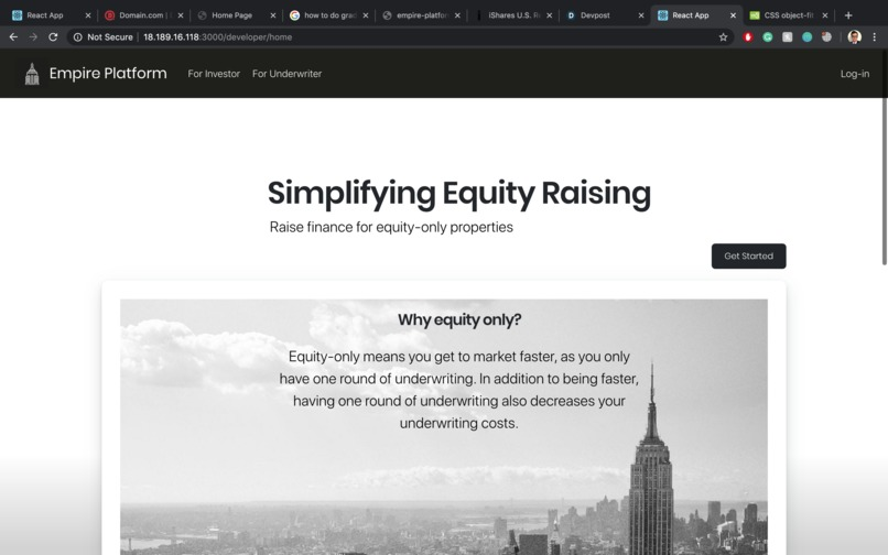 Empire-The Real Estate Investment Platform – screenshot 4