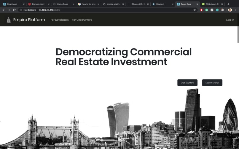 Empire-The Real Estate Investment Platform – screenshot 1