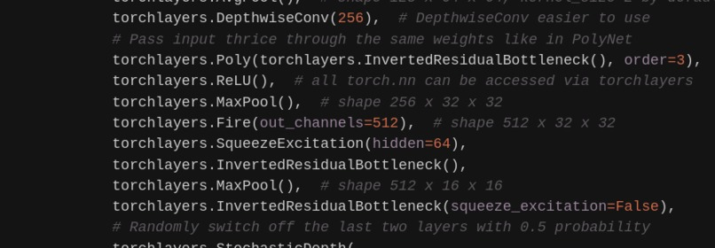 torchlayers + torchlambda – screenshot 5
