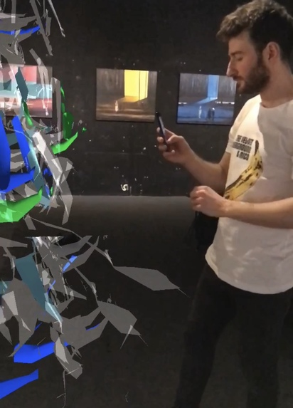 Unity AR Art Experience – screenshot 2