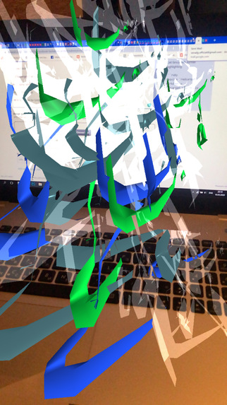 Unity AR Art Experience – screenshot 3