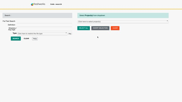Freshworks Code Search – screenshot 3