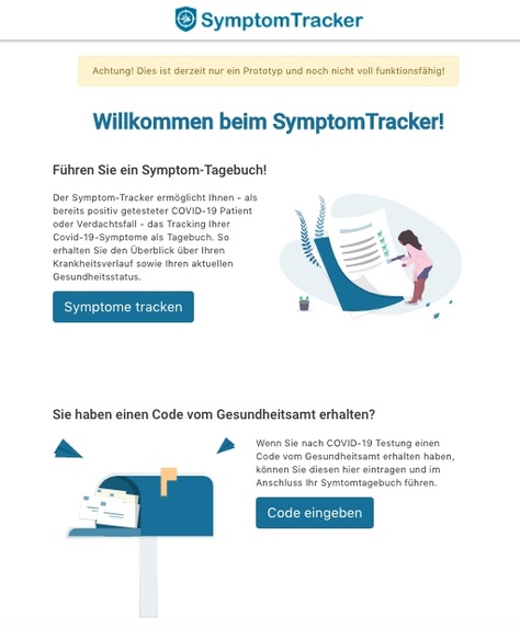 31_Digitale_Krankheits-Anamnese_SymptomTracker – screenshot 2
