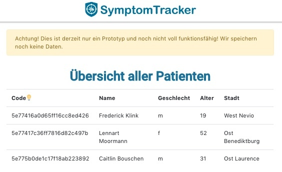 31_Digitale_Krankheits-Anamnese_SymptomTracker – screenshot 6