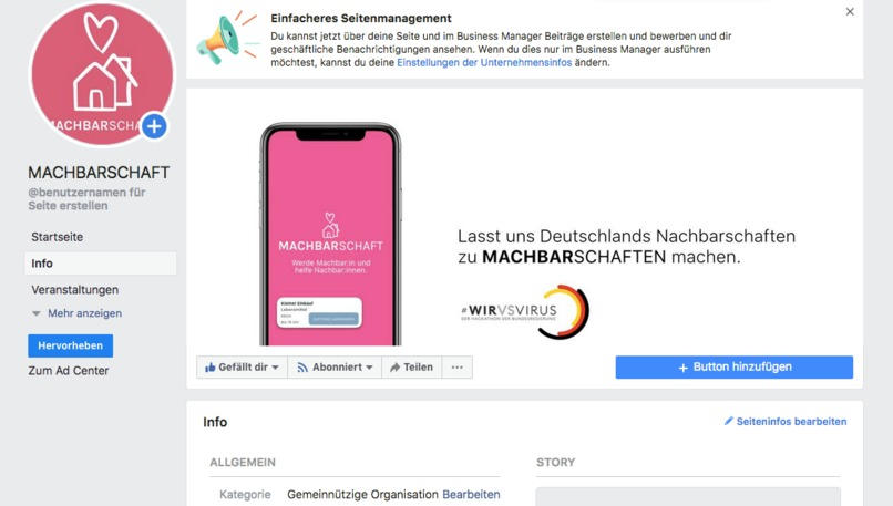 01_Lebensmittel-Matching_#EinAnrufHilft – screenshot 6