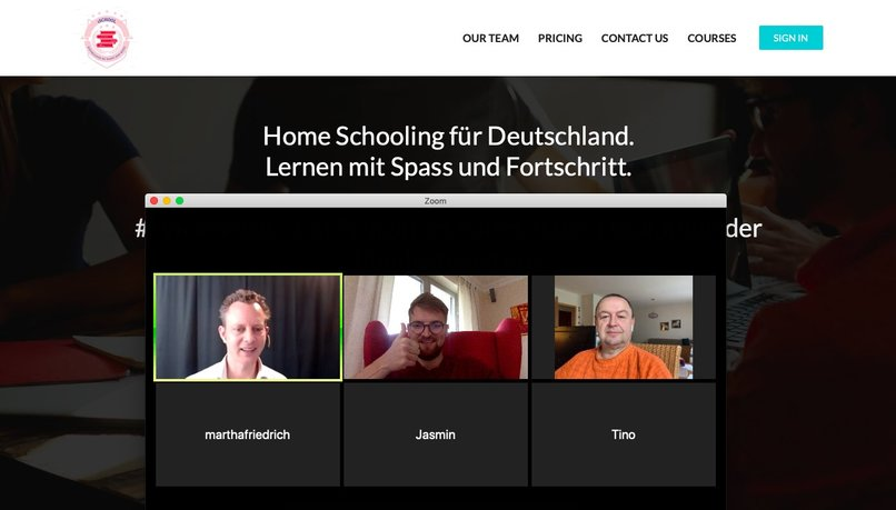 19_e-Learning_Online_Digitale_Schule_1School_Homeschooling – screenshot 2