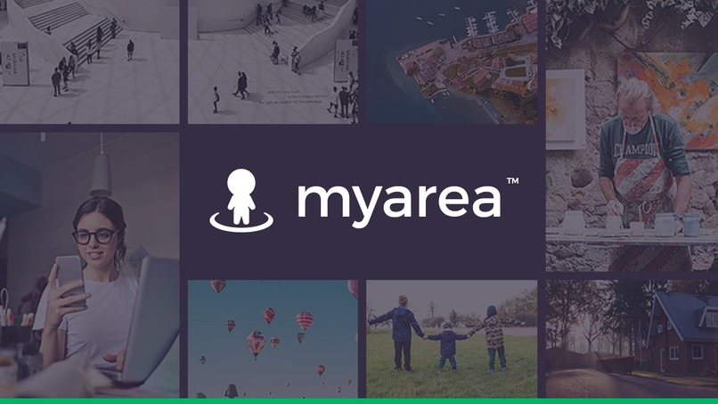 MyArea.com app – screenshot 2