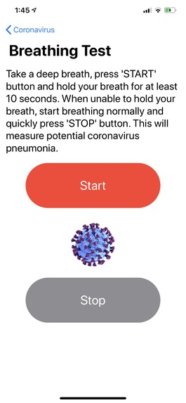 Coronavirus (COVID-19) – screenshot 4