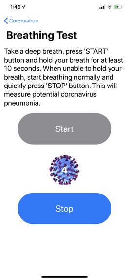 Coronavirus (COVID-19) – screenshot 5