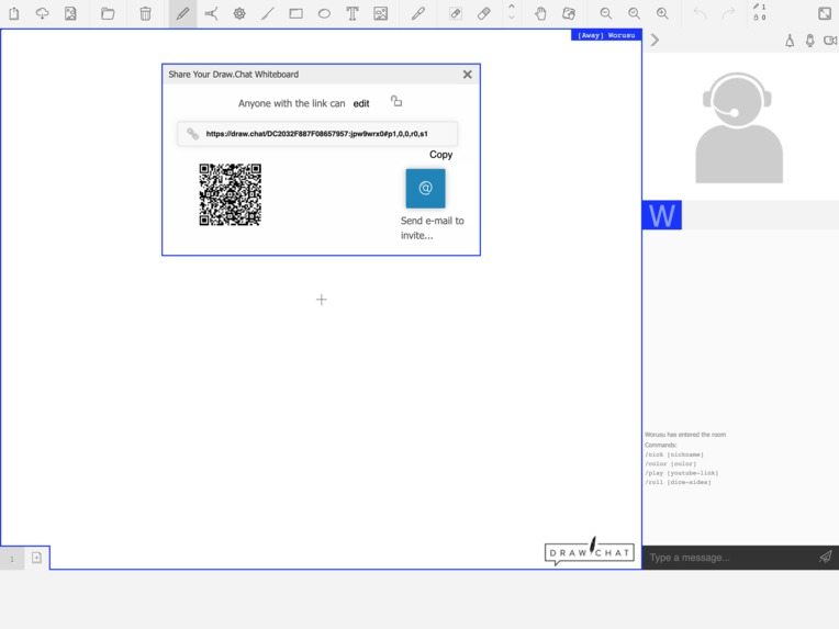 DRAW.CHAT - Virtual Classroom – screenshot 4