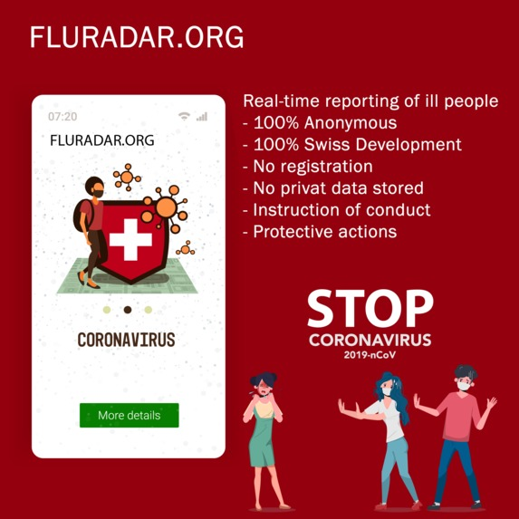 Fluradar.org – screenshot 2