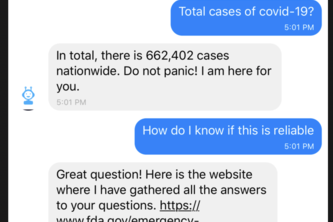 Tina the Quarantine Chatbot