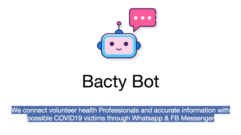 Bacty Bot – screenshot 1
