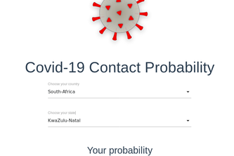 Covid-19 Contact Probability