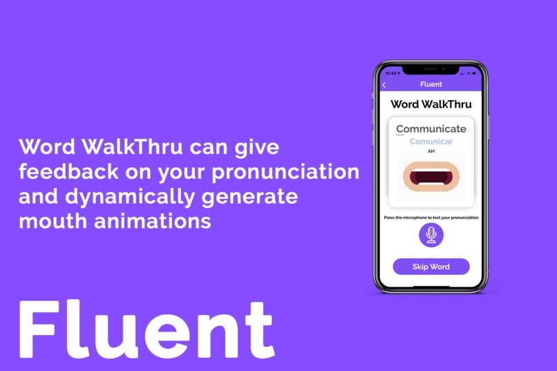 Fluent – screenshot 1