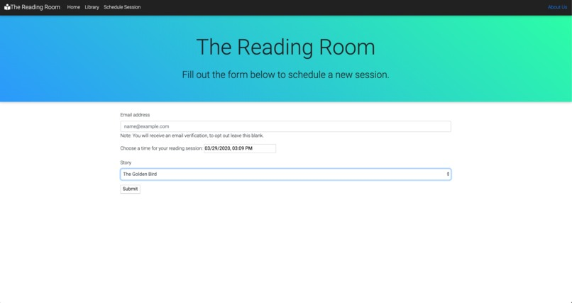 The Reading Room – screenshot 2